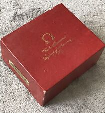 EXCELLENT COND.VINTAGE OMEGA CARD BOARD BOX