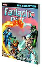 FANTASTIC FOUR EPIC COLL WORLDS GREATEST COMIC MAG TP MARVEL COMICS
