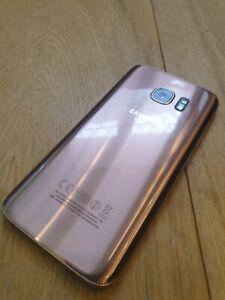 Samsung Galaxy S7 SM-G930F Pink Rose Gold Unlocked 32gb