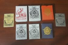 Victor E. Mauger Reproduction Playing Cards Set (6 Decks)