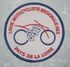 """Ligue Motocycliste des Pays de la Loire Patch - motorcycle club  France - 3 1/2"""""""