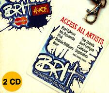 Brit Awards  2 CDs-FOO FIGHTERS, ROBBIE WILLIAMS,COLDPLAY,PINK,CRAIG DAVID uvm..