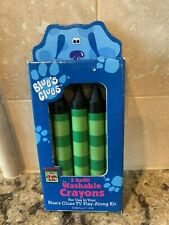 Blues Clues AUTHENTIC Handy Dandy Notebook Crayons Refill -NEW in package!!!