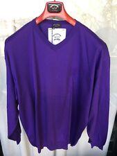 Pullover a V  Paul & Shark   100% Cotone  , Tg. 5XL