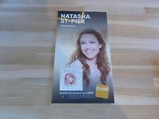 NATASHA ST-PIER - Thérèse de Lisieux !!! PLV / DISPLAY 14 X 25 CM