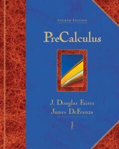 Precalculus Couverture Rigide J.Douglas Faires