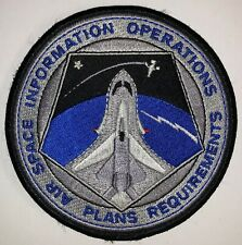 NASA Air Space Shuttle Information Operations Plans Requirements Patch