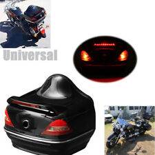 Motorcycle Trunk Box W/Taillight Fit For  Honda Yamaha Suzuki Vulcan Scooters