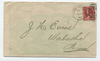 1894 Chicago Milwaukee & St. Paul Rwy allover ad cover with letterhead [4722.14]