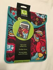 """NWT STUDIO C Tablet Sleeve Case Padded Cover Fits  Most 10"""" Tablet Screens"""