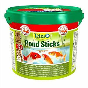 TETRA POND STICKS 20% EXTRA FREE 1200g 10L -> 1440g 12L FLOATING FOOD KOI FISH
