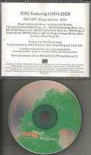 LINDA EDER w/ JUNG the Gift RARE USA PROMO Radio DJ CD single 1998 MINT