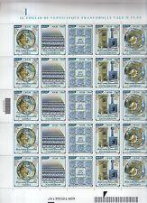 foglio francobolli arte della ceramica - 25 valori da 0,60 -
