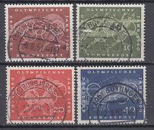 BRD 1960 MER. n. 332-335 Top timbro pieno/circa timbro timbrato LUSSO! (28446)