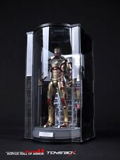 Toys Box 1/6 1 PC LED LIGHT UP CLEAR HALL OF ARMOR 3.0 FOR IRON MAN MK33 XLII 42