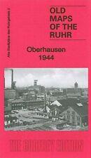 OLD ORDNANCE SURVEY MAP OBERHAUSEN 1944