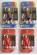 2 x L. MESSI And 2 x S. GERRAD~ Match Stars Football Action Figure 12/13 Season