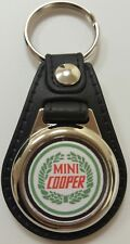 MINI COOPER Logo Medallion Keyring, Brand New