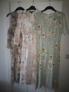 Ladies Maxi Dress Bundle Size 12 Summer Dress Miss Selfridge H&M Primark
