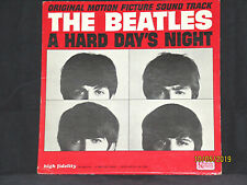 """The Beatles """"A HARD DAY'S NIGHT"""" Rare 1st Press 1964 LP UAL-3366...EXCELLENT!"""