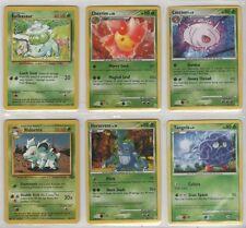 BULBASAUR Pokemon Card LOT #5 Used & in G to PL ~ Pokeman VENUSAUR Poke'Mon
