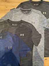 *Under Armour Threadborne, Lot Of 4, Blue/Black/Grey/Black, Size M, $159