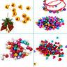 Christmas Mixed Color Jingle Bells Loose Beads DIY Bracelet Charms Xmas Decor-WI
