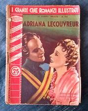 Grandi cineromanzi illustrati 1939 n.393 Adriana Lecouvreur (I. Printemps) 07/16