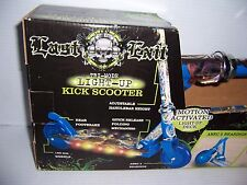 Last Exit Tri-Mode Light-Up Folding Kick Scooter New In Box!