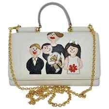DOLCE & GABBANA RUNWAY NUDE FAMILY MAMMA CROSSBODY SICILY LIPSTICK BAG SHOULDER