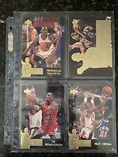 New listing Michael Jordan- 4 Upper Deck Jumbo Card Sets + 1 (Bonus) Set!  118 Cards Total!
