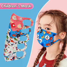 1PC Children Kid Boys Girls Washable Reusable Cartoon Lovely Mask Cover Stretchy