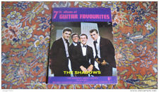THE SHADOWS guitare partition album guitar 7 song sheet music book Hank Marvin