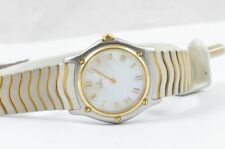 Ebel 1911 Women's Watch Steel /750 Gold 28MM Classic Wave Top Condition 181908