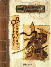 Oriental Adventures - Dungeons and Dragons + Gift Map