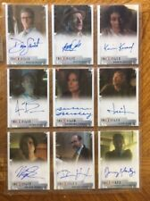 X-Files Seasons 10 & 11 All Nine Limited Autographs Lot, Rittenhouse