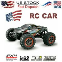 Hosim RC Monster Truck Car 1:10 Scale 4WD 2.4Ghz Off-road Remote Controls Car US