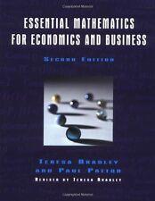 Essential Mathematics for Economics and Business,Teresa Bradley, Paul Patton