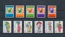LM37971 Suriname clothing child welfare fine lot MNH