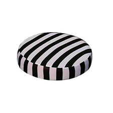 Spandex Stripe Elastic Office Bar Home Stool Cover Round Chair Seat Cover
