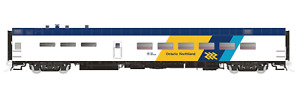 RAPIDO 1/87 HO O.N.R. ONTARIO NORTHLAND 48 SEAT P-S DINING CAR RD. #1409  124050