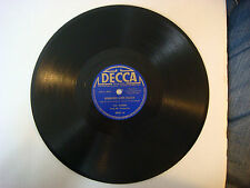 Decca Label 78 rpm Ribbons & Roses Vocal Chorus by Perry Como  Fox Trot 2041