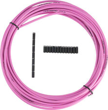 New Jagwire 5mm Sport Brake Housing with Slick-Lube Liner 10M Roll Pink