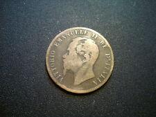 1867 H Italia 10 Centesimi Coin. BELLA Grade