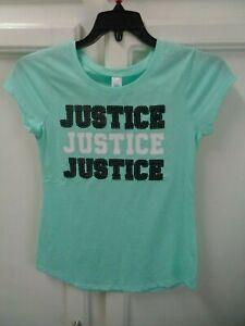 Girls SIZE 12 Short Sleeve T-shirt JUSTICE NWOT!!