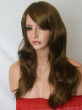 Light Brown medium women wavy straight ladies adult fashion real natural Wig K17