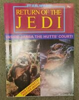 Star Wars Return Of The Jedi Official Poster Magazine #2