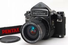NR MIN Pentax 67 LateModel Eye Level Mup 6x7 w/SMC P 55mm F4 Lens from JP #637