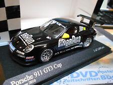 PORSCHE 911 997 GT3 Cup Supercup #90 2010 Braun VIP Mobil Minichamps 1:43