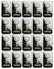 Lot of 20 - 1 Troy Oz .999 Fine Silver Bar Morgan Dollar Design Bars SKU33863